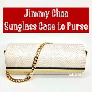 🆕 Authentic Jimmy Choo Sunglass Case to Purse